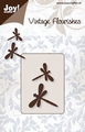 Joy stencil Vintage Flourishes 6003-0037 Libelle