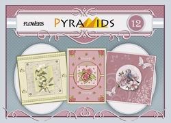 Carddeco Pyramids PYM012 Flowers