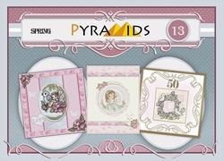 Carddeco Pyramids PYM013 Spring