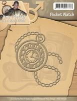 Amy Design Die Its a Mans World ADD10025 Pocket Watch