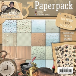 Amy Design Paperpack ADPP10007 Its a Mans World