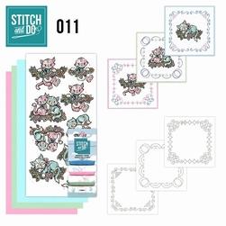 Stitch and Do borduursetje STDO011 Katjes