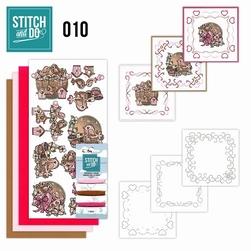 Stitch and Do borduursetje STDO010 Moederdag