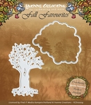 Yvonne Creations Die YCD10009 Fall Favourites Seasonal Tree