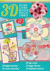 Studio Light serie 2015 A4 Boek 89 Hippe kaarten