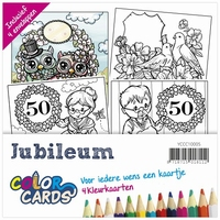 Color Cards 5 Yvonne Creations YCCC10005 Jubileum