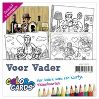 Color Cards 3 Yvonne Creations YCCC10003 Voor Vader