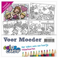Color Cards 2 Yvonne Creations YCCC10002 Voor Moeder