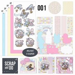 Scrap and Do 1 SCDO001 Baby