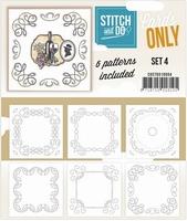 Stitch & Do Cards only COSTDO10004 set 04