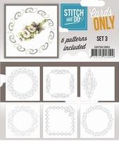 Stitch & Do Cards only COSTDO10003 set 03