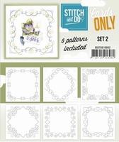 Stitch & Do Cards only COSTDO10002 set 02