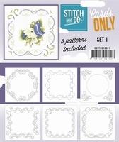 Stitch & Do Cards only COSTDO10001 set 01