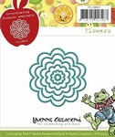 Yvonne Creations Die YCD10023 Opkikker Flower