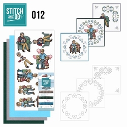 Stitch and Do borduursetje STDO012 Vaderdag