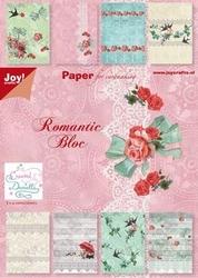 Joy! A5 paperbloc 6011-0056 Romantic Bloc (met zwaluwen)