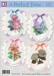 Creatief Art 0061 A Perfect Time 2 bloemen