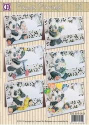 Creatief Art 0024 Panda Parade 01