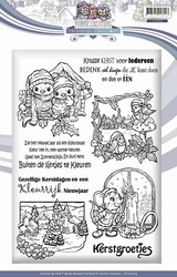 Stempel Yvonne Creations YCCS10003 Colourful Christmas