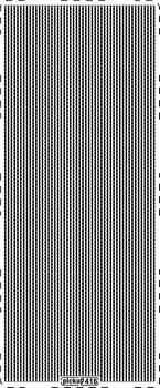Stickervel PickUp 416 Fijne lijntjes