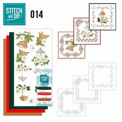 Stitch and Do borduursetje STDO014 Klassieke kerst