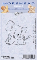 Clear stamps Morehaed Animals 97-4012 Olifant