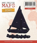Die Amy Design ADD10029 Maps Boat