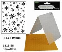 Darice Embossing folder 1251-58 Snowflake/sneeuwvlok