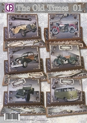 Creatief art A4 pakket RE2530-0067 The Old Times 01