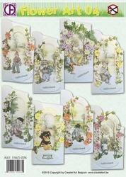 Creatief Art 004 Flower Art 04