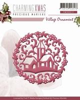 Precious Marieke's Die Charming Xmas PM10037 Village Ornamen