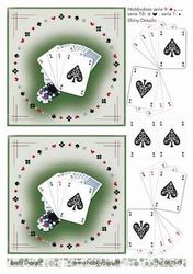 A4 DOTS Stappenvel Barto Design 67396 Speelkaarten