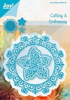 Joy! Cutting & Embossing 6002-0460 Cirkel met bloem