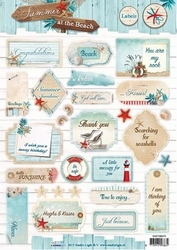 A4 Stansvel Studio Light SB475 Summer at the Beach labels