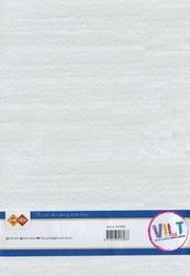 Card Deco CDVILT001 wit