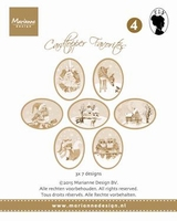 MD Card toppers sepia favourites CT1504 Els