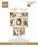 MD Card toppers sepia favourites CT1503 Vintage