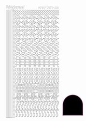 Stickervel Hobbydots Adhesive STDA183 Black