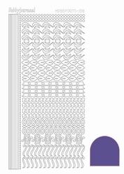 Stickervel Hobbydots Mirror STDM186 Violet