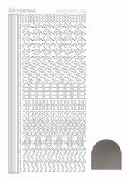 Stickervel Hobbydots Mirror STDM188 Zilver