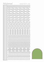 Stickervel Hobbydots Mirror STDM18C Lime