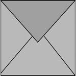 Romak enveloppen 4-kant Wit