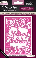Die'sire Essentials DS-CAD6-BCEL Birthday Celebration