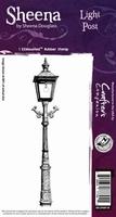 Sheena Individual EZMount stamps SD-LPOST-IS Light Post