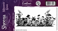 Sheena Individual EZMount stamps SD-GRASS-IS Silhouette Gras