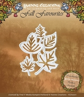 Yvonne Creations Die YCD10011 Fall Favourites Leaves