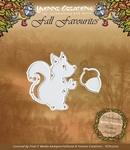 Yvonne Creations Die YCD10010 Fall Favourites Squirrel
