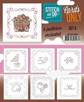 Stitch & Do Cards only COSTDO10005 set 05