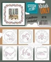 Stitch & Do Cards only COSTDO10008 set 08