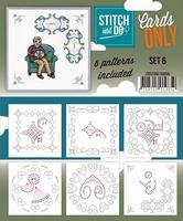 Stitch & Do Cards only COSTDO10006 set 06